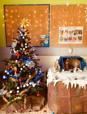 Decoration De L Ecole Preparation Noel
